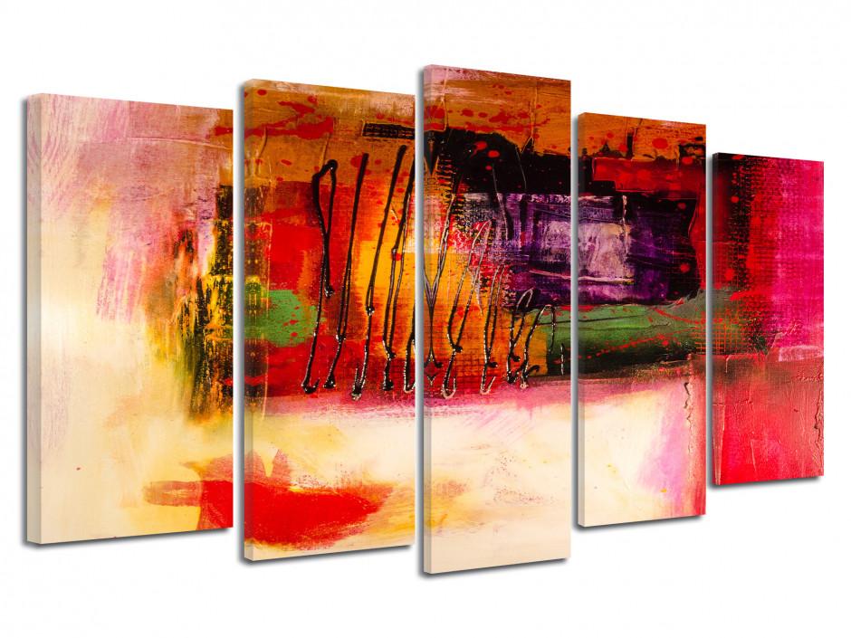Tableau toile multipanneaux Abstrait