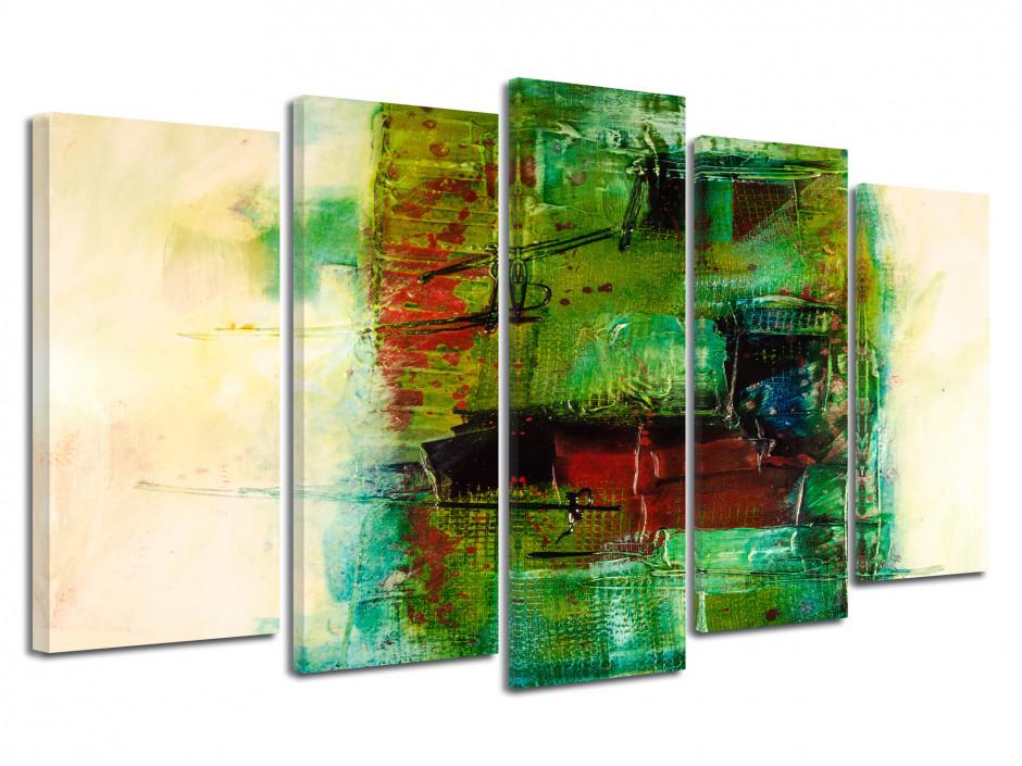 Tableau toile design peinture abstraite