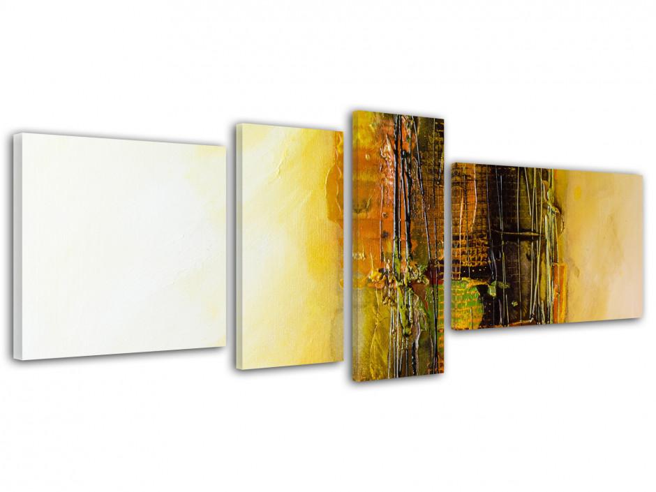Tableau toile multipanneaux design peinture