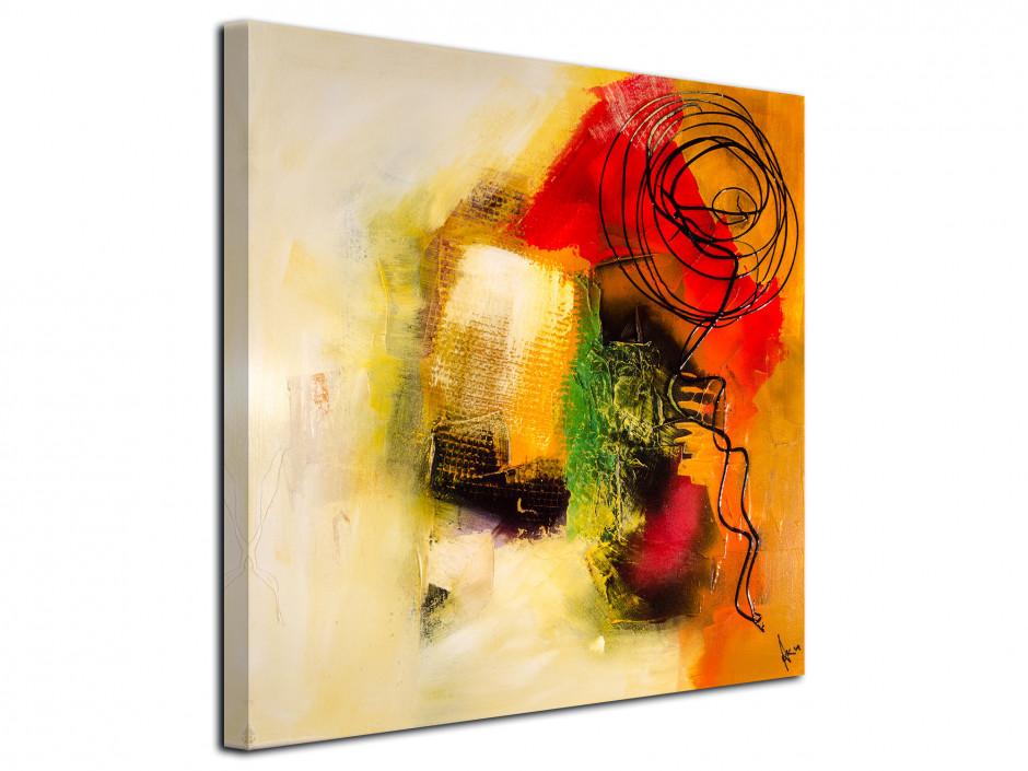 Tableau décoratif toile imprimée Abstract