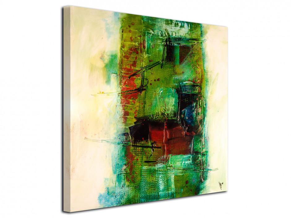 Tableau toile carré design Abstrait