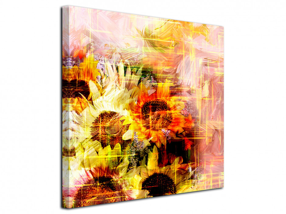 Tableau déco toile Abstract Flower