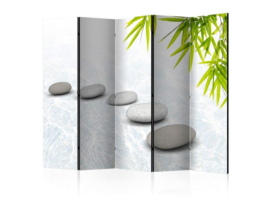 Paravent 5 volets  Stoic Calm II [Room Dividers]