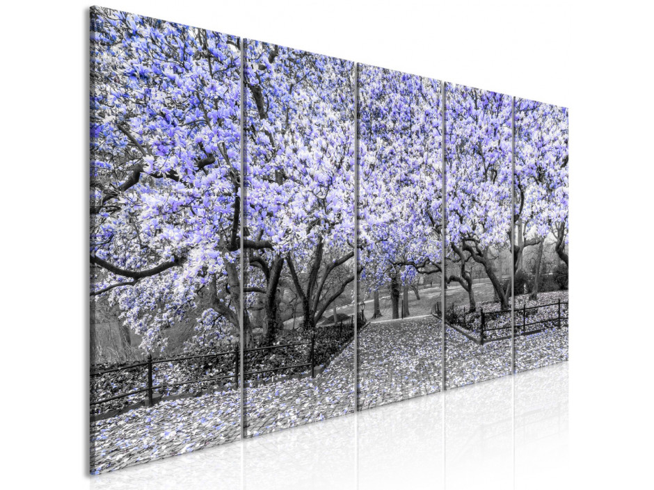 Tableau - Magnolia Park (5 Parts) Narrow Violet