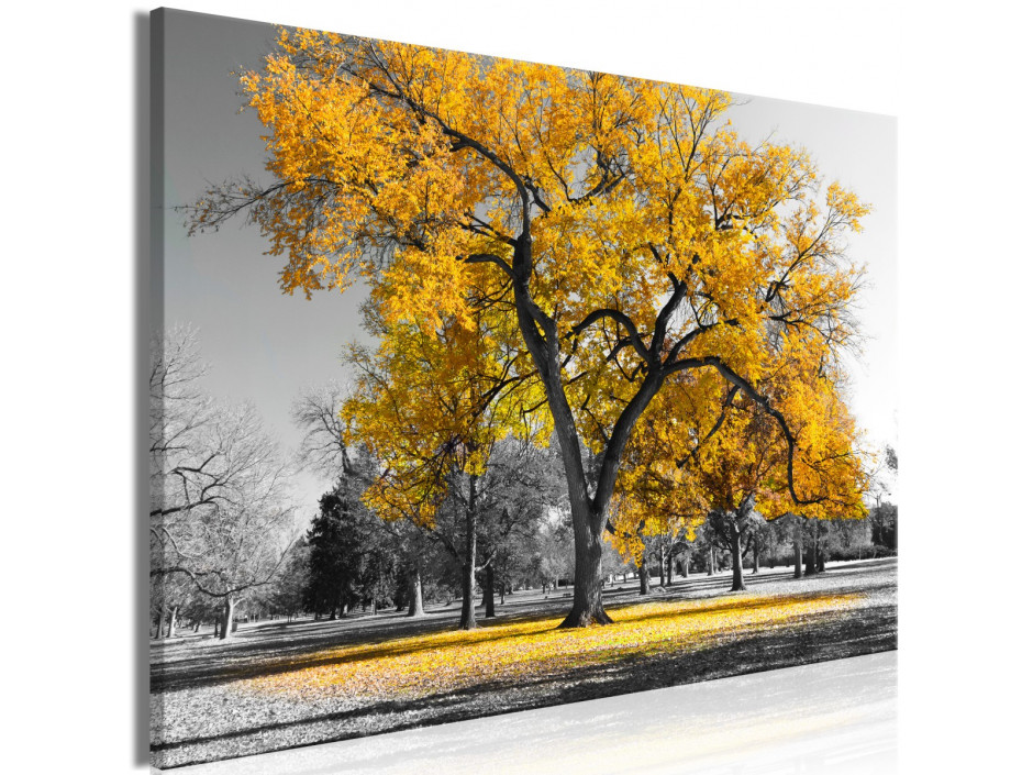 Tableau  Autumn in the Park (1 Part) Wide Gold