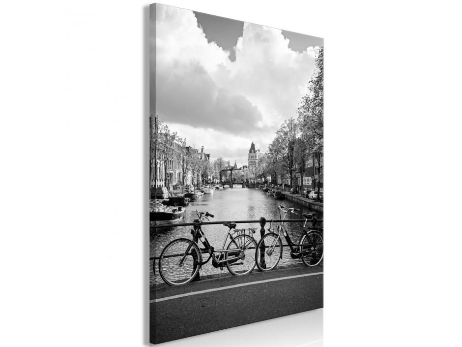 Tableau - Bikes On Bridge (1 Part) Vertical