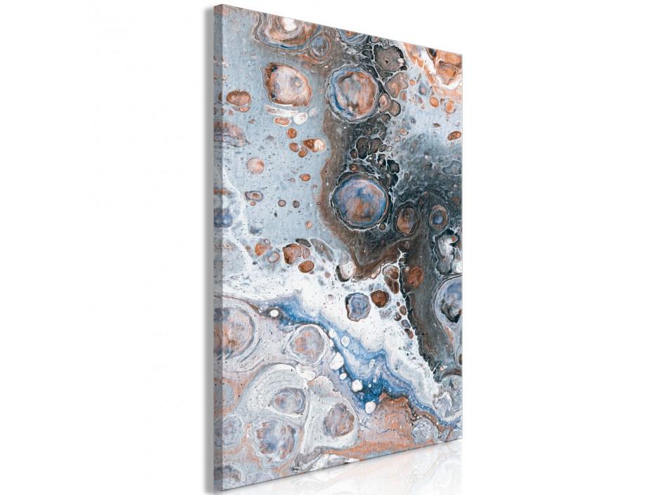 Tableau  Blue Sienna Marble (1 Part) Vertical