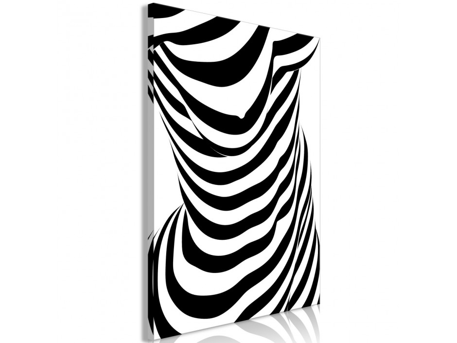 Tableau - Zebra Woman (1 Part) Vertical
