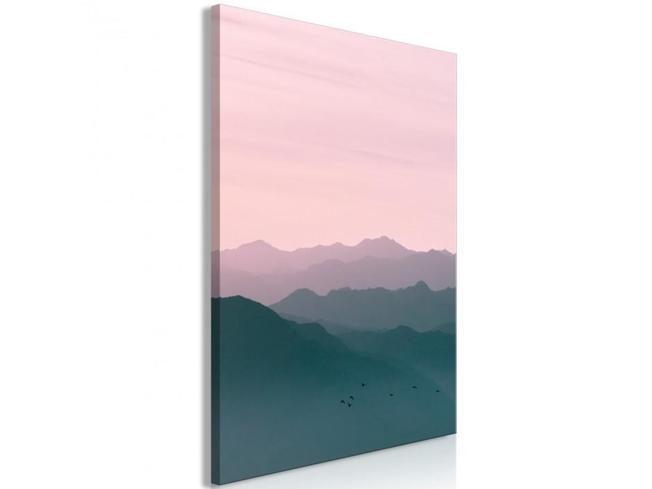 Tableau  Mountain At Sunrise (1 Part) Vertical