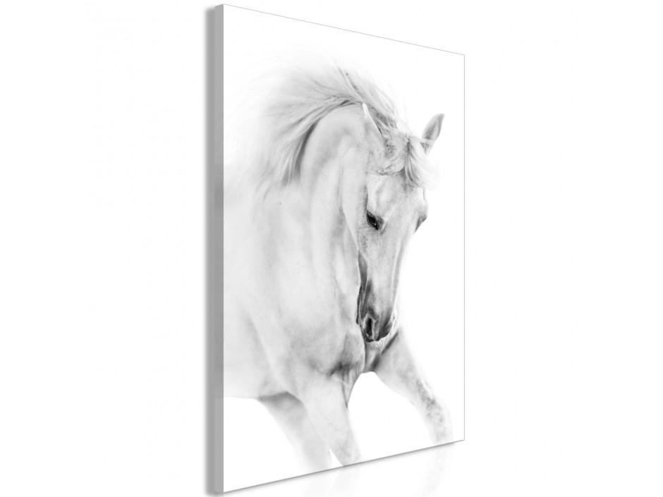 Tableau  White Horse (1 Part) Vertical