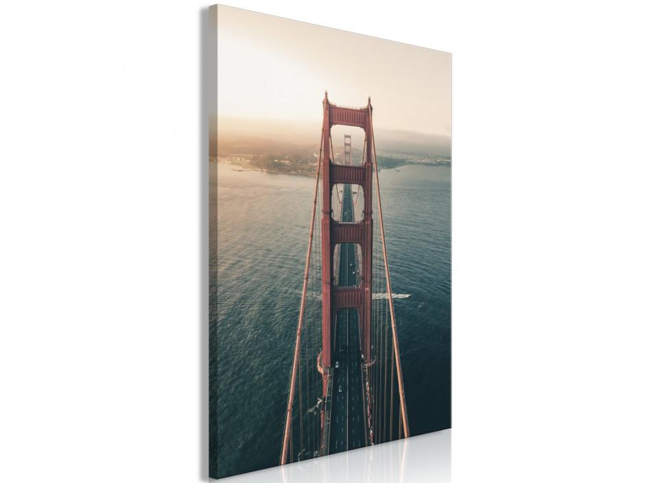 Tableau  Golden Gate Bridge (1 Part) Vertical