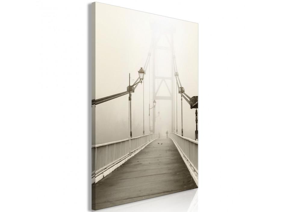 Tableau - Bridge in the Fog (1 Part) Vertical