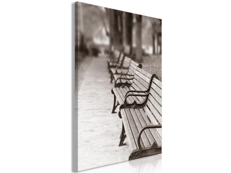 Tableau  Park Benches (1 Part) Vertical