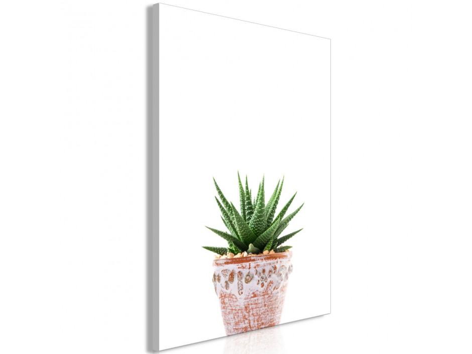Tableau  Succulents In Pot (1 Part) Vertical