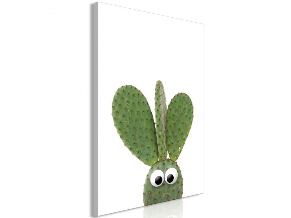 Tableau  Ear Cactus (1 Part) Vertical