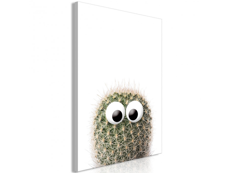 Tableau  Cactus With Eyes (1 Part) Vertical