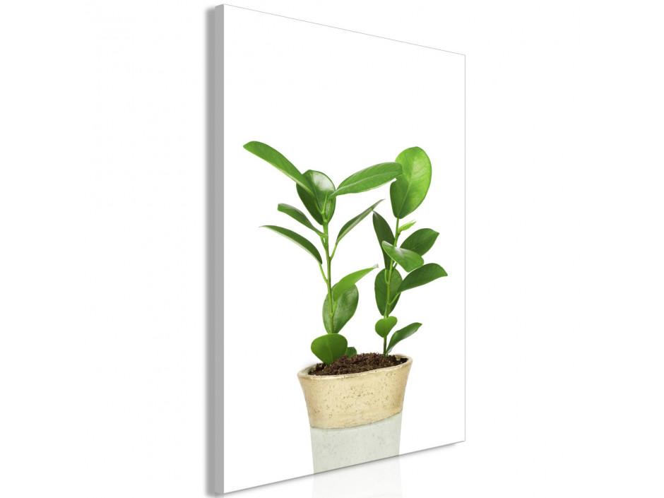 Tableau  Plant In Pot (1 Part) Vertical