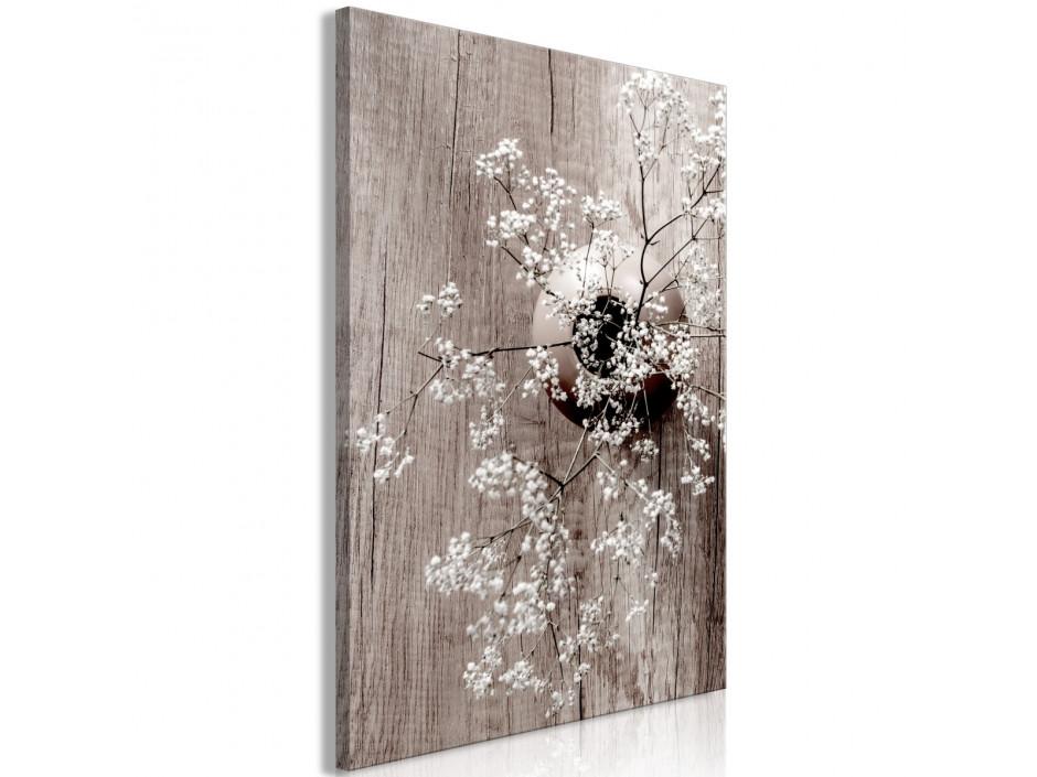 Tableau  Dried Flowers (1 Part) Vertical