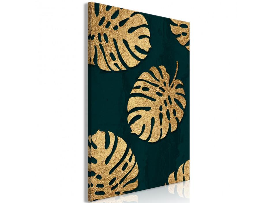 Tableau  Leaves of Luxury (1 Part) Vertical