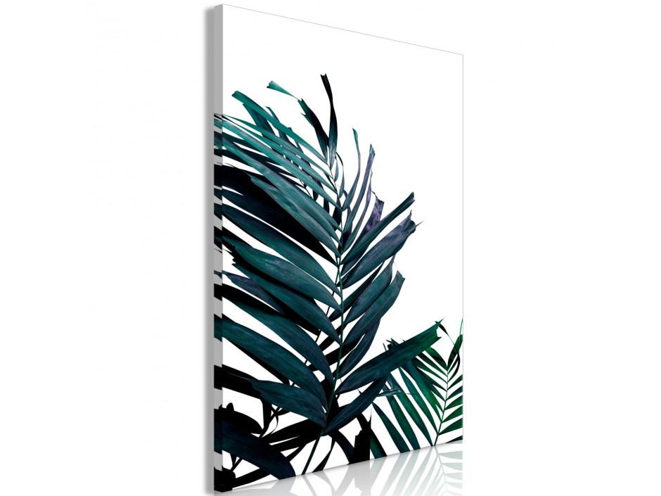 Tableau  Emerald Leaves (1 Part) Wide