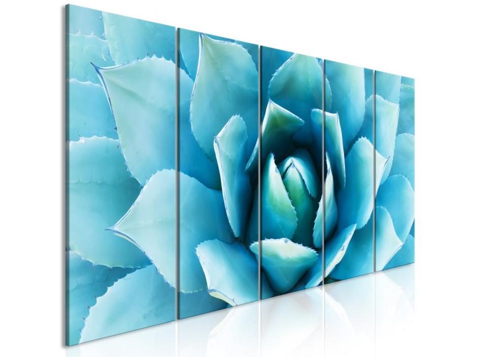 Tableau  Agave (5 Parts) Narrow Blue