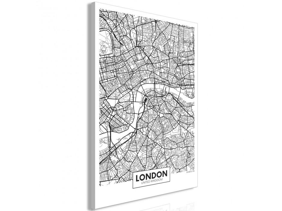 Tableau  Map of London (1 Part) Vertical