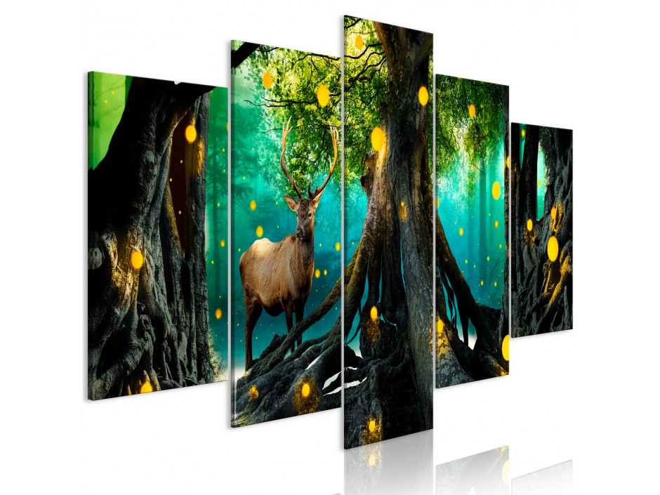 Tableau  Enchanted Forest (5 Parts) Wide