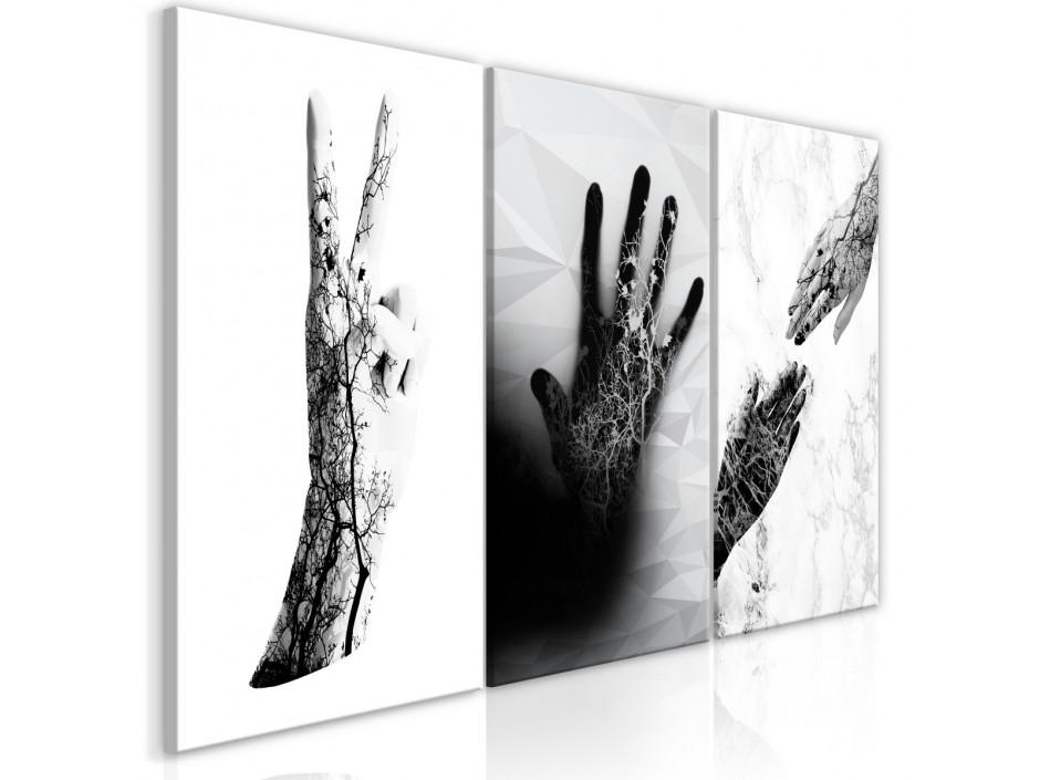 Tableau  Female Hands (3 Parts)