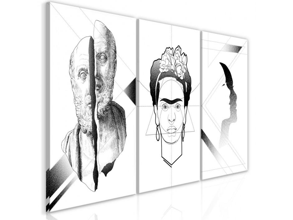 Tableau - Facial Composition (3 Parts)