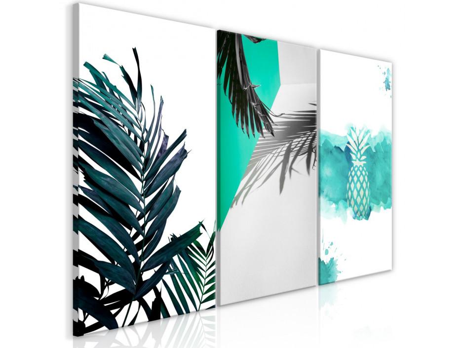 Tableau  Palm Paradise (3 Parts)