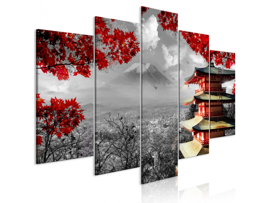 Tableau  Japanese Adventure (5 Parts) Wide