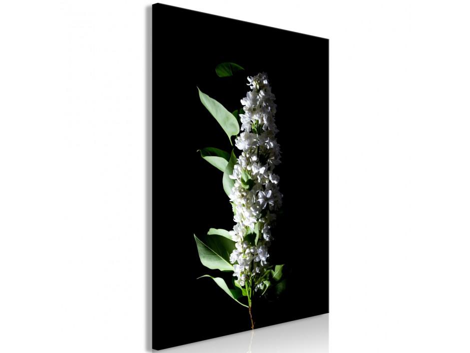 Tableau  White Lilacs (1 Part) Vertical