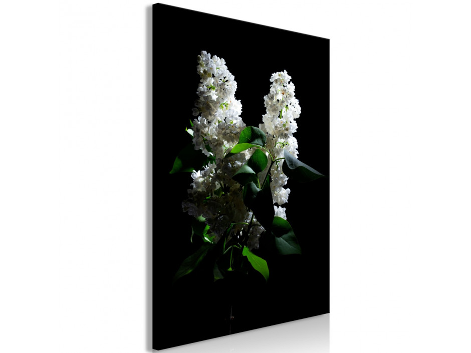 Tableau  Lilacs at Night (1 Part) Vertical