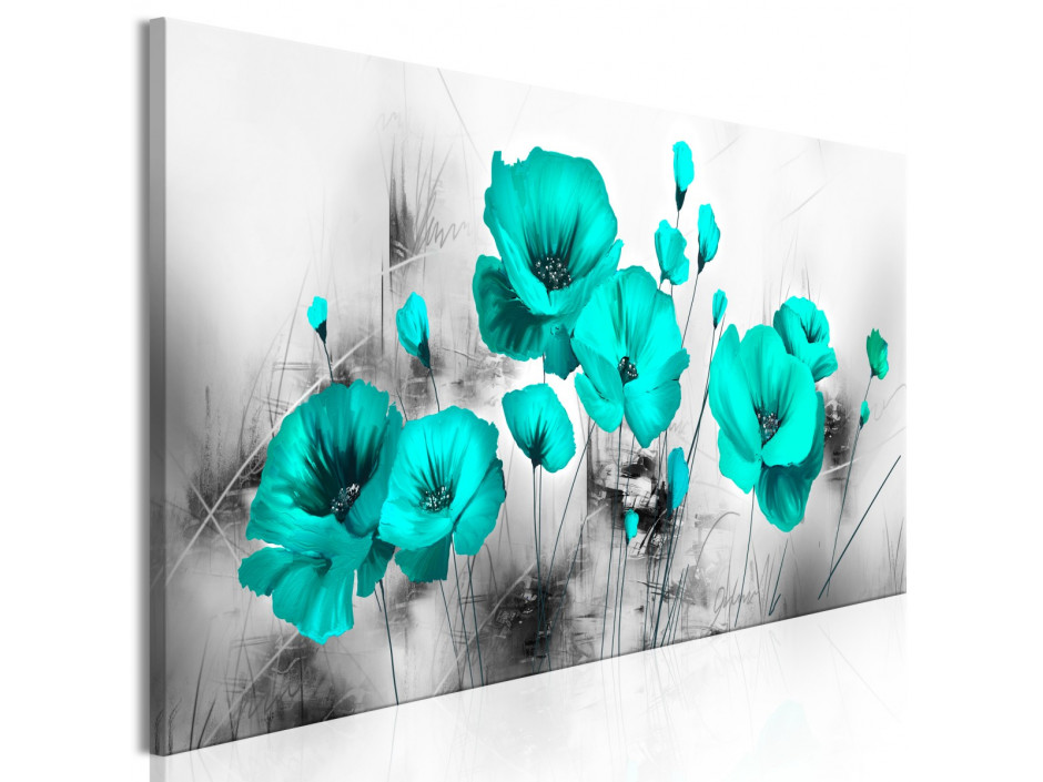 Tableau  Turquoise Meadow (1 Part) Narrow