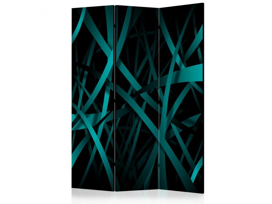 Paravent 3 volets  Dark background [Room Dividers]