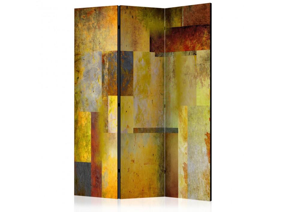 Paravent 3 volets  Orange Hue of Art Expression  [Room Dividers]