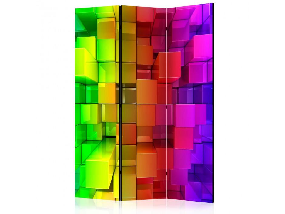 Paravent 3 volets  Colour jigsaw [Room Dividers]