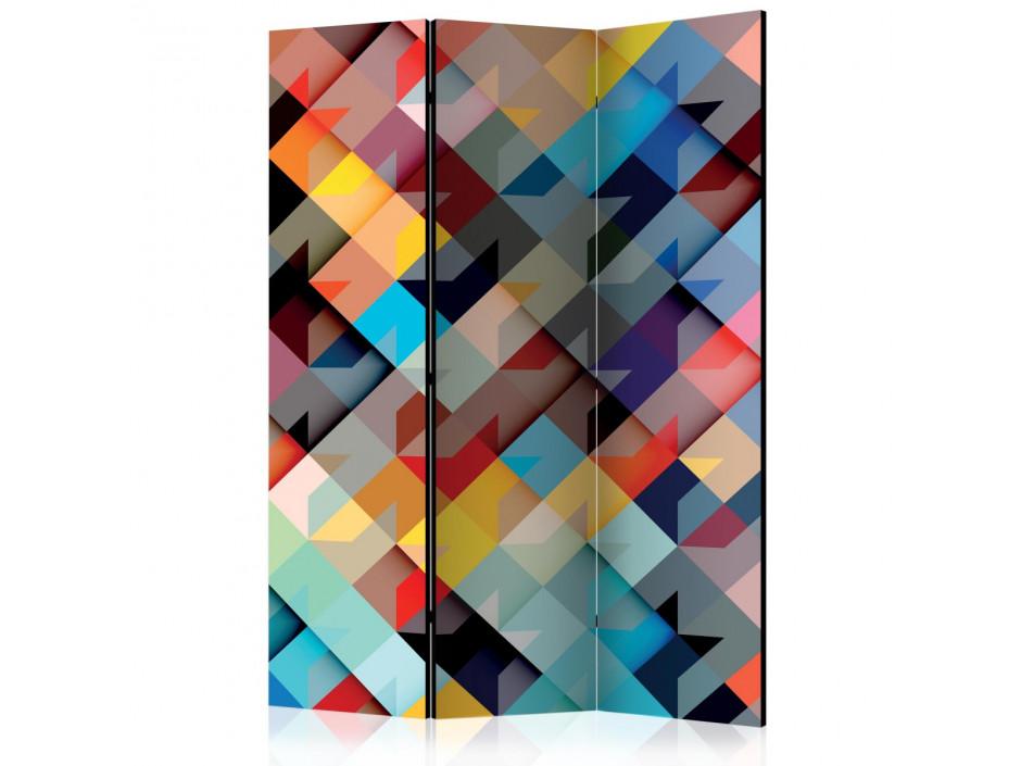 Paravent 3 volets  Colour Patchwork [Room Dividers]