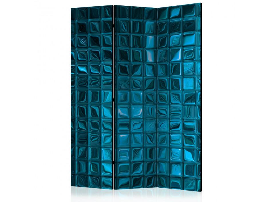Paravent 3 volets  Azure Mosaic [Room Dividers]