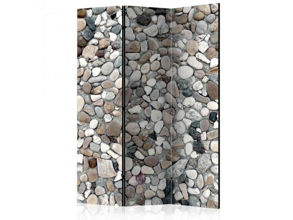 Paravent 3 volets  Beach Pebbles [Room Dividers]
