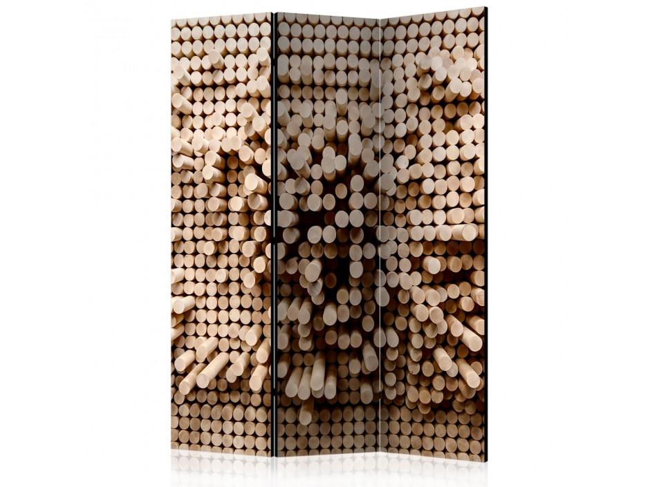 Paravent 3 volets  Stick Puzzle [Room Dividers]