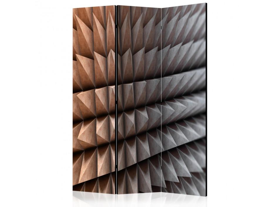 Paravent 3 volets  Steel Defense  [Room Dividers]