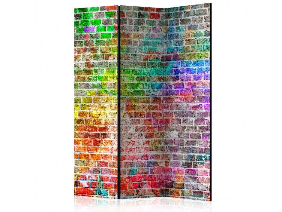 Paravent 3 volets  Rainbow Wall [Room Dividers]