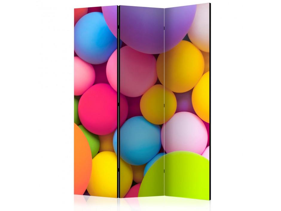 Paravent 3 volets  Colourful Balls [Room Dividers]