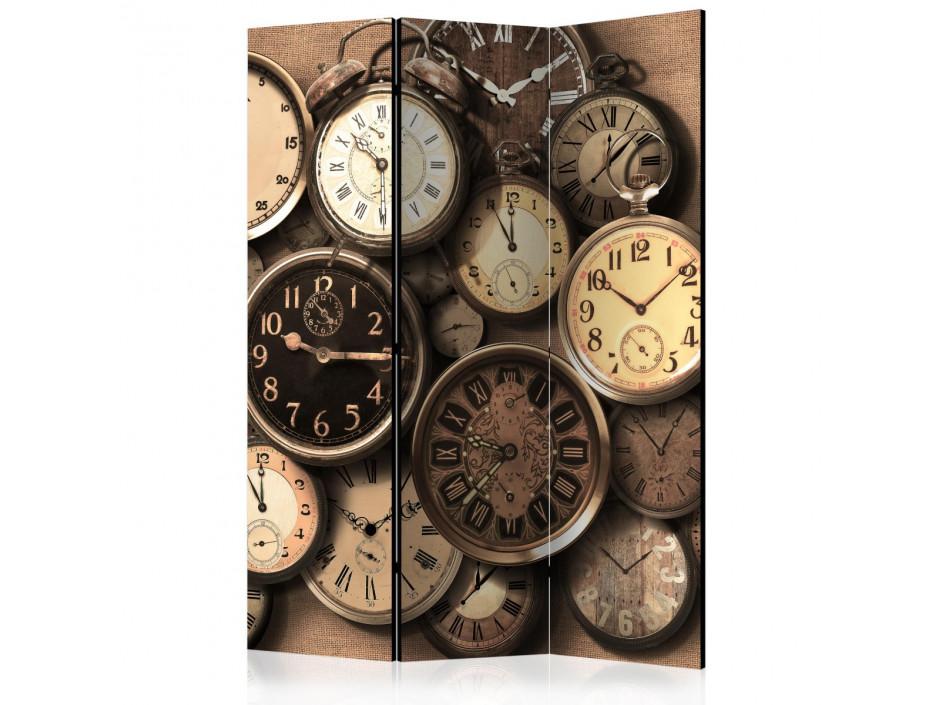 Paravent 3 volets  Old Clocks [Room Dividers]