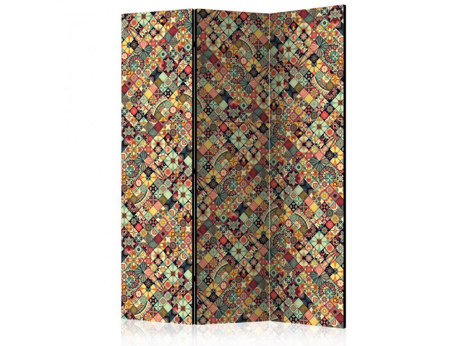 Paravent 3 volets  Rainbow Mosaic [Room Dividers]