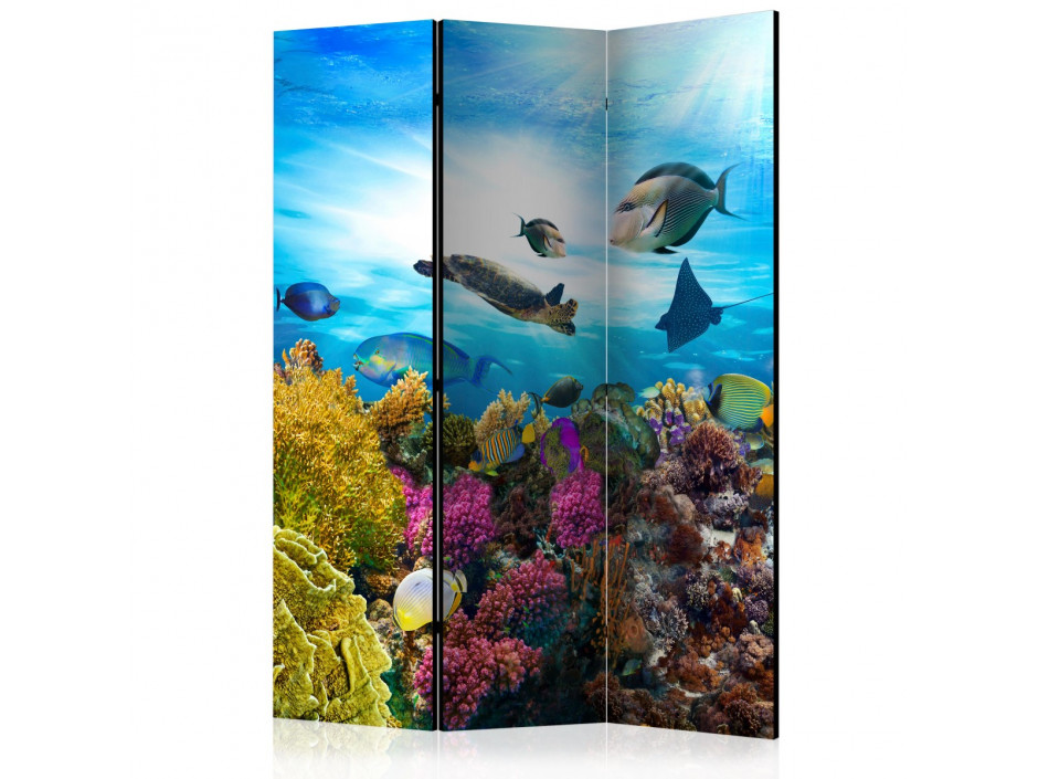 Paravent 3 volets  Coral reef [Room Dividers]