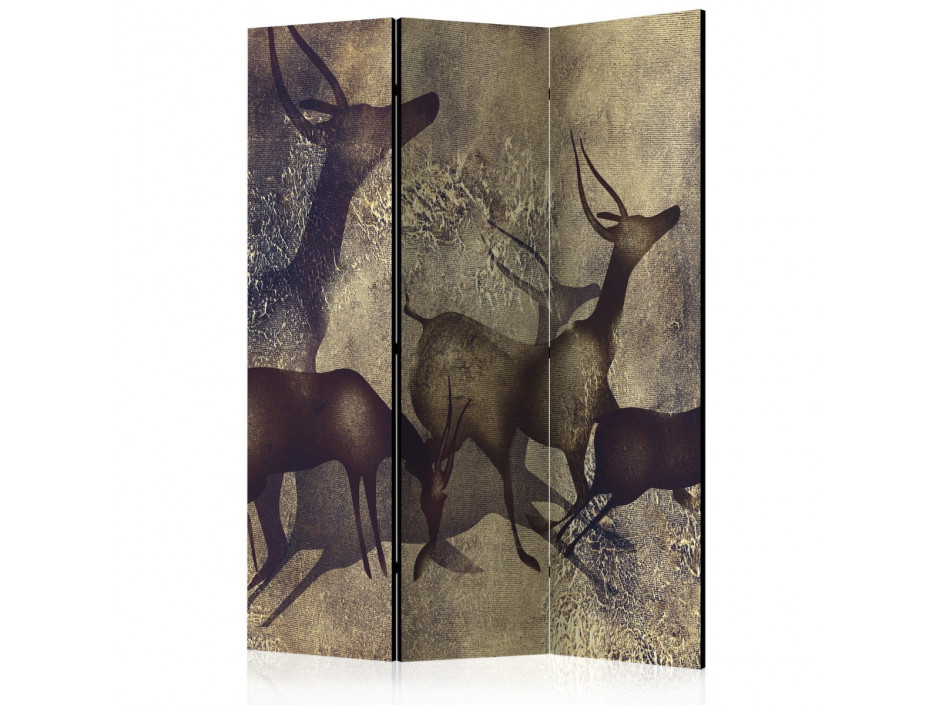 Paravent 3 volets  Antelopes [Room Dividers]