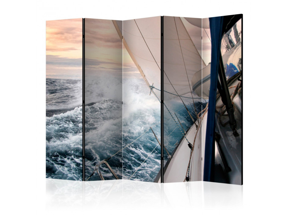 Paravent 5 volets  Sailing II [Room Dividers]