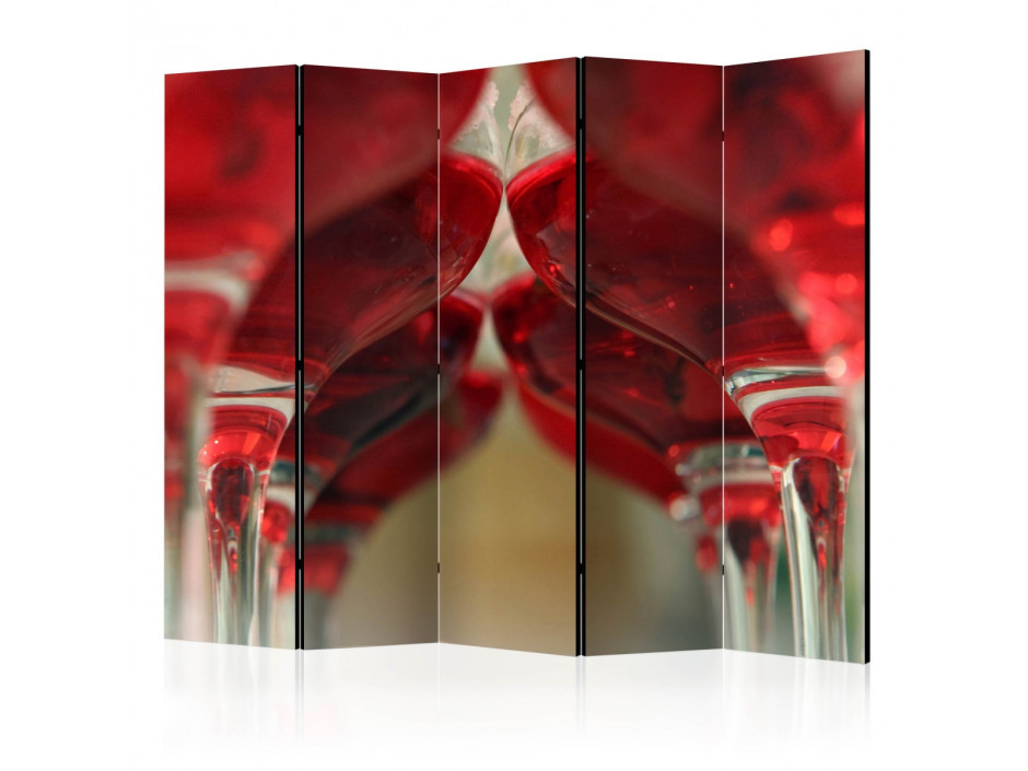 Paravent 5 volets  Wine bar II [Room Dividers]
